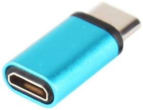 Type-C to Micro USB Converter OTG adapter For Smartphones And Other Type-C Devices (Colour May Vary)