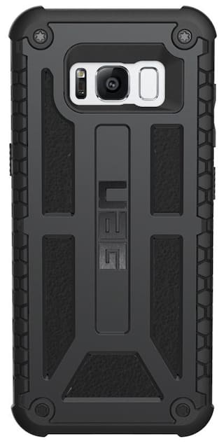 new concept 38e56 5f3a2 UAG Monarch Feather-Light Rugged For Samsung Galaxy S8 (Matte Black)