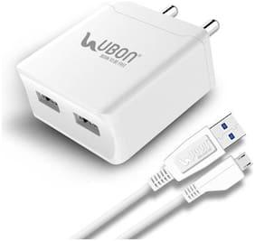 UBON Dock Charger - 2 USB Ports With Micro USB Cable