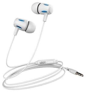 UBON UB 770 WHITE In-Ear Wired Headphone ( White )
