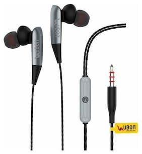 UBON In-Ear Wired Headphone ( Grey )
