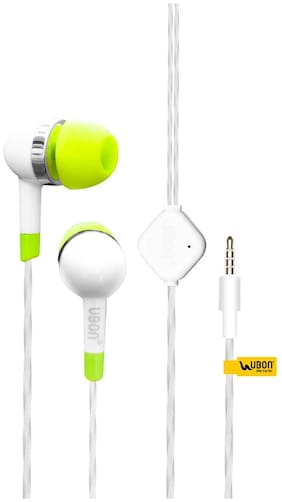 UBON In-Ear Wired Headphone ( White )