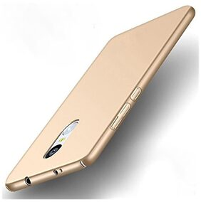 Ultimate Collection Back Cover For Redmi Note 4 Hard Case Gold