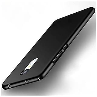 Ultimate Collection Hard Case Back Cover For Xiaomi Redmi Note 4 (Black)