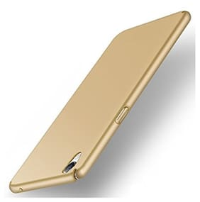 Ultimate Collection Hard Case Back Cover For Oppo A37 (Gold)