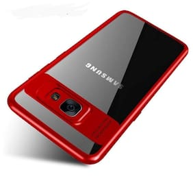 Ultimate Collection Silicone Back Cover For Samsung Galaxy J7 Max ( Red )