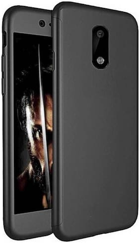 ultimate collection 360 back cover with tempered glass for nokia 6