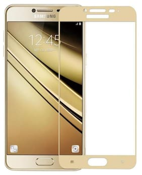 ultimate collection samsung galaxy J5 prime full coverage tempered glass for samsung galaxy J5 prime golden