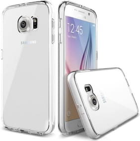 Ultimate Collection Polyurethane Back Cover For Samsung Galaxy S6 Edge ( Transparent )