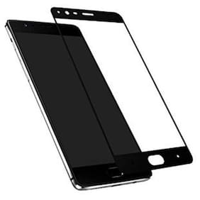 ultimate collection one plus 5 full coverage tempered glass for one plus 5 black