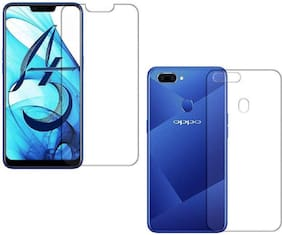Ultimate Collection Front and Back Tempered Glass For OPPO A5