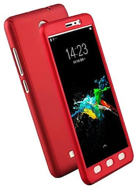 ultimate collection redmi note 4 (ipaky style ) 360 degree  back cover redmi note 4  red