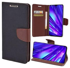 Ultimate Collection Flip Cover For Motorola Moto C Plus Brown