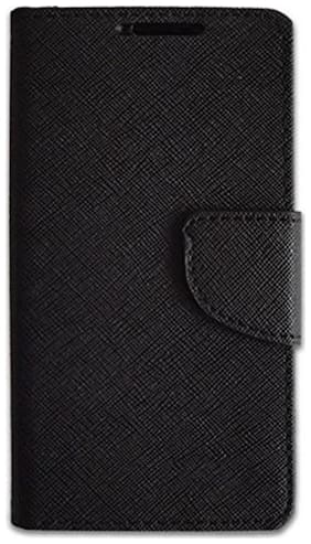 Ultimate Collecton Flip Cover For Samsung Galaxy On7 (Black)