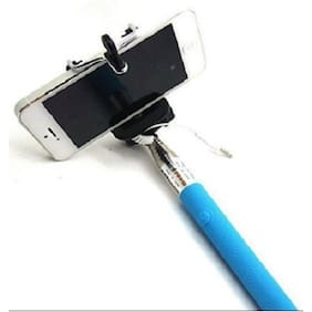 Premsons Ultimate Selfie Stick Monopod with Easy Aux Cable (Colours May Vary)