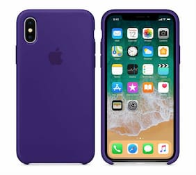 GENUINE ORIGINAL Apple Silicone Case For apple iPhone X 10 ULTRA VIOLET