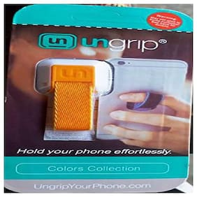 Ungrip OnePlus 3T Compatible Ungrip Finger Mobile Holder For all Smartphones   YellowBy Buddies cart