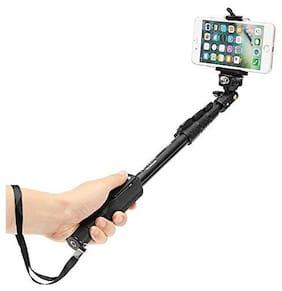 Uniq QT-588 Professional High End Wireless Bluetooth (Mobile/Camera Stick) Monopod Selfie Stick