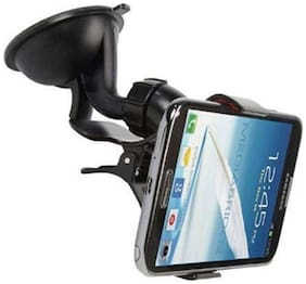 Universal Car Mount holder/Windshield/Dashboard/Working Desk holder With 360 Degree Rotating Base With Flexible Arm To Position Mobile For All Smartphones