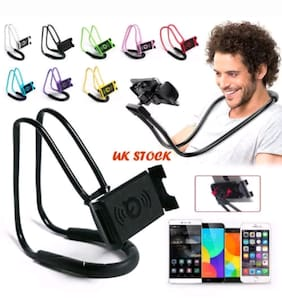 Universal Long Lazy Neck Desk Stand Mount Holder Bracket for all Phone ASSORTED COLORS