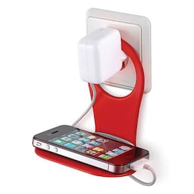 Ultimate collection Mobile Charging Stand Holder Protection Stand,Mobile Charging Stand Wall Holder,Simple,Useful and Mobile Charging Stand Wall Holder Hanger Suitable for Almost All Mobile Phones-