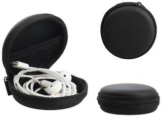Universal portable earphones data cable storage box pouch case cover