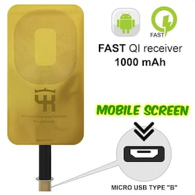 UnTech Wireless Charging Receiver for All Android Mobile