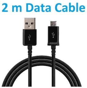 OFFERSONLY Data & Charging Micro USB Cable ( 2 m , Black )