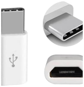 USB Type-C To Micro USB Adapter for One Plus 3, One Plus 3T, Samsung Galaxy S8 Plus, Galaxy C9 Pro,Galaxy C7 Pro(SET OF 2 ADAPTER-COLOR MAY VERY )