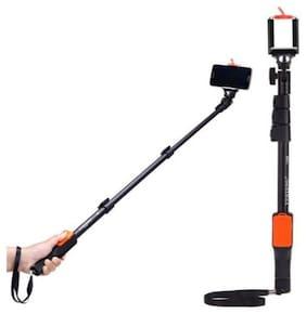 UVQ_465U_ mi 1288 Selfie Stick Black selfie stick   Selfie stick with bluetooth remote    Bluetooth selfie stick