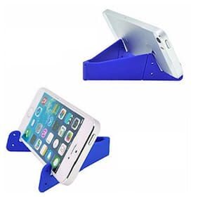 V- Shape Mobile Holder for All Smartphones and iOS Phones Pack of 4(Multicolor)