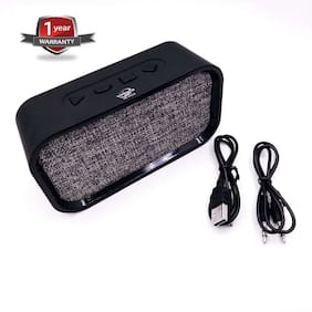 Branded Bluetooth Speaker with Mic and Good Sound Quality With One Year Warranty
