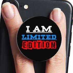 VCR I Am Limited Edition | Mobile Pop Up Holder for Your Phone & Tablet | Mobile Stand Holder | Phone Grip Holder | Black Colour Holder