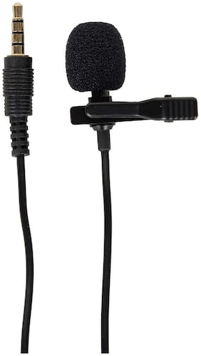 VESSHIC COLLAR MIC BLACK 1PC