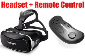 Virtual Reality Headset ELEGIANT 3D VR Glasses Box for 3D Movies FREE REMOTE