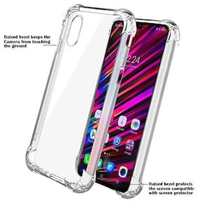 BIG CAT Back Cover For Vivo V11 Pro ( Transparent )