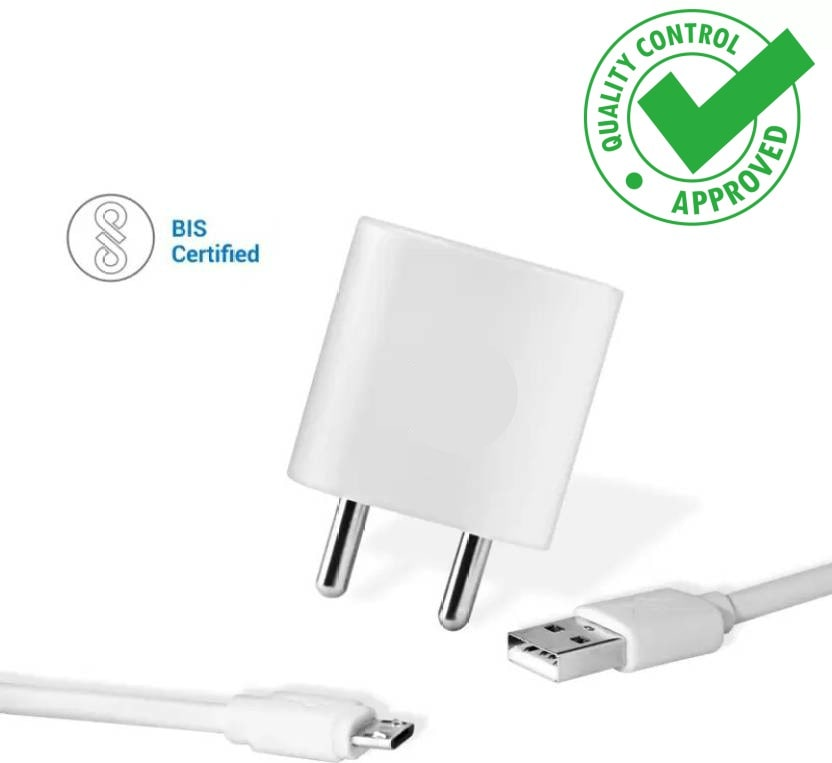 Vivo V3 Max Compatible Charger Adapter 2 Amp With 1 m Micro USB Cable
