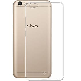 Vivo V5 Transparent Back Cover (Transparent)