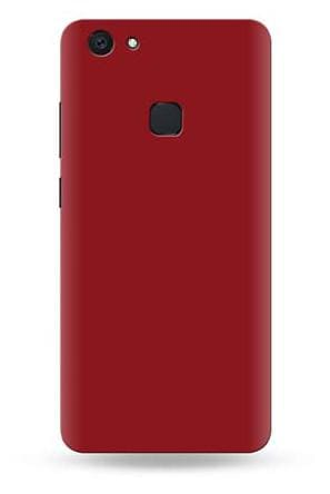 reputable site 92b16 44ef0 Buy Vivo V7+ Back Cover Maroon Mat finish Online at Low Prices in ...