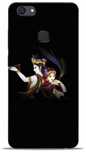 Sowing Happiness Polycarbonate Back Cover For Vivo V7 ( Multi )