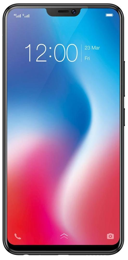Vivo V9 64 GB Pearl Black and Golden Line