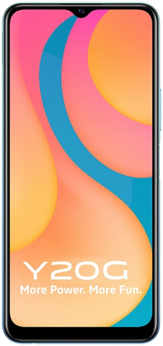 Vivo Y20G 6 GB 128 GB Purist Blue
