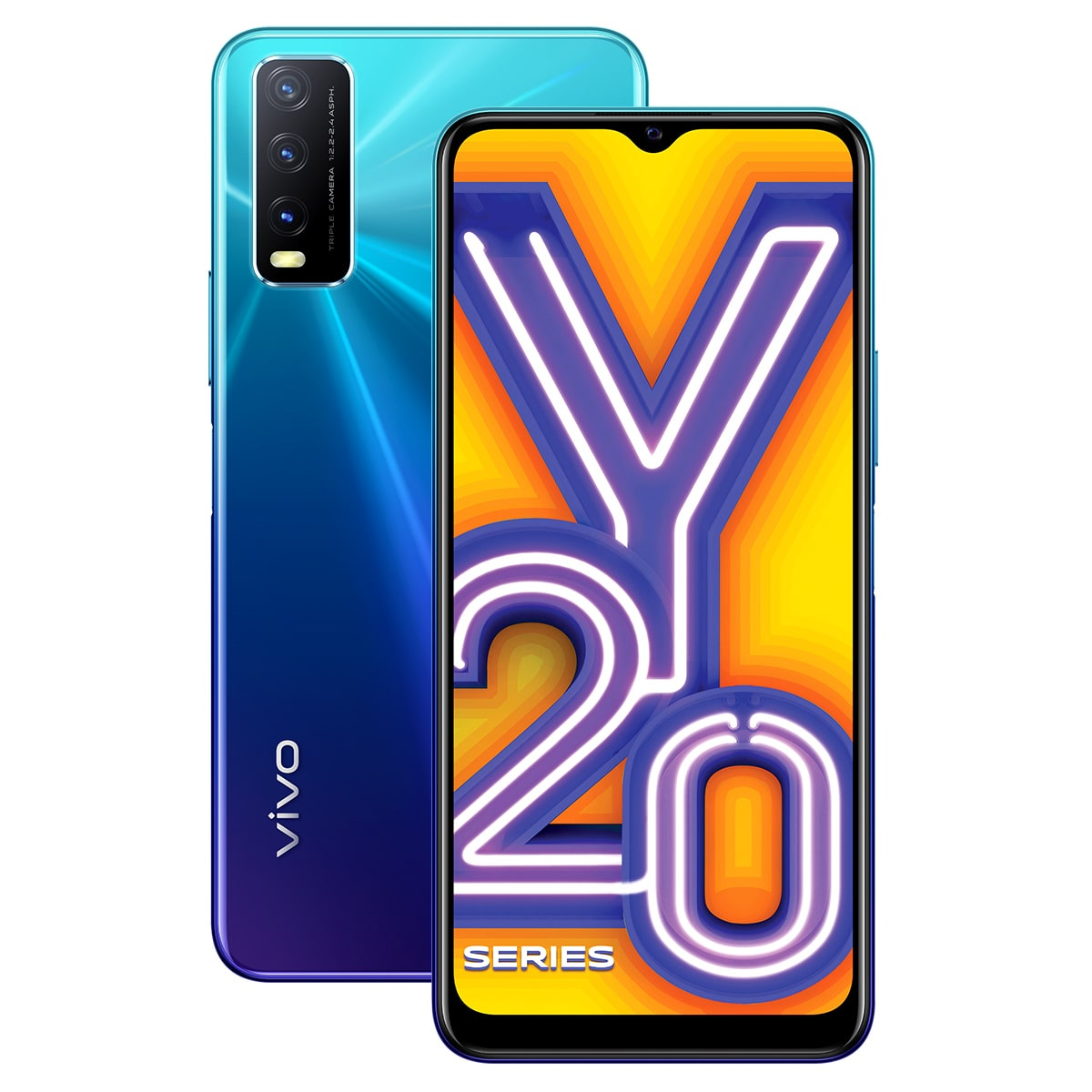 Vivo Y20i 3 GB 64 GB Nebula Blue