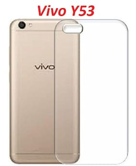 OFFERSONLY Silicone & Soft Case Back Cover For VIVO Y53 ( Transparent )
