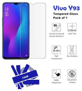Vivo Y93  Tempered Glass (Pack of 1)