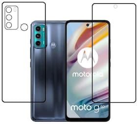 Moto G60 Front and Back Screen Guard By Vizio