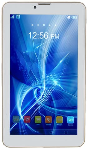 Vizio Super Tech118 7 inch Tablet with 3G Calling (White & Golden)