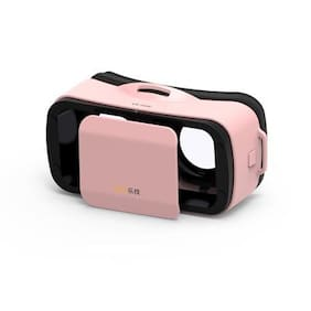 VR Mini Box Virtual Reality 3D Glasses Movie Game for iPhone 6s Android Pink MT