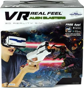 VR Real Feel Alien Blaster 3D Reality Simulator iPhone Android Compatible Sealed