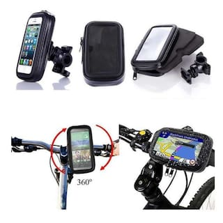 Waterproof Bike/ Motorcycle Mobile Holder Zip Pouch Style - 4.7inch